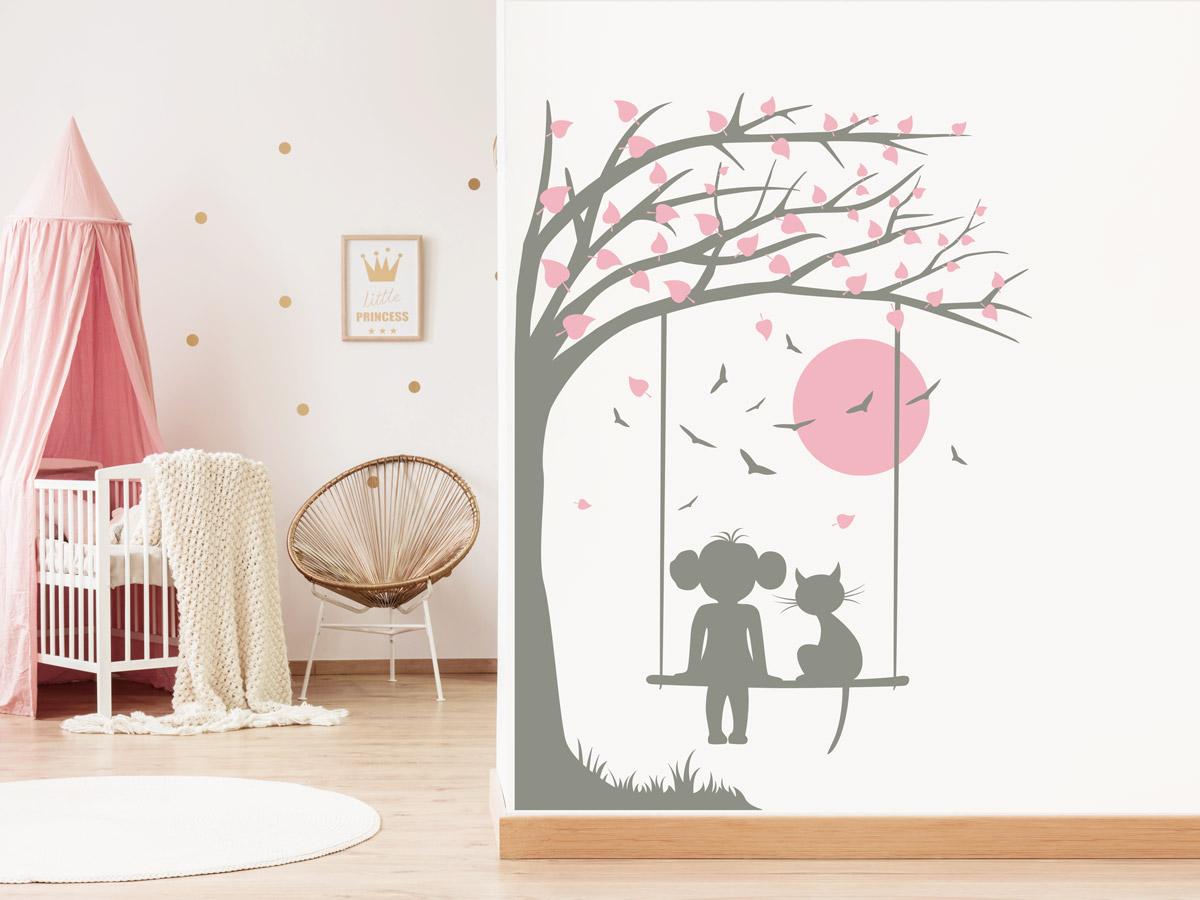 Wandtattoo Baum Kinderzimmer | Tolle Ideen | Wandtattoos.de