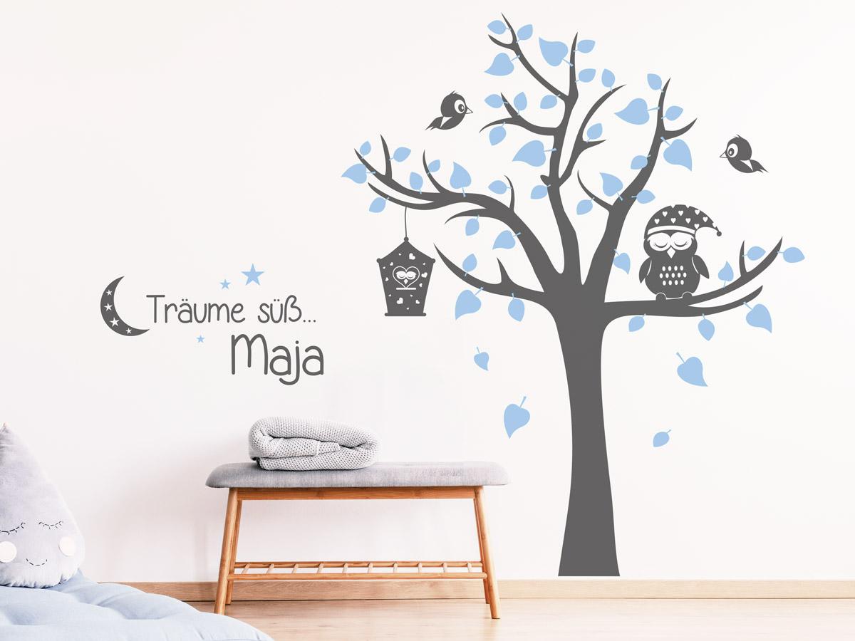 Wandtattoo Baum Kinderzimmer Tolle Ideen Wandtattoos De