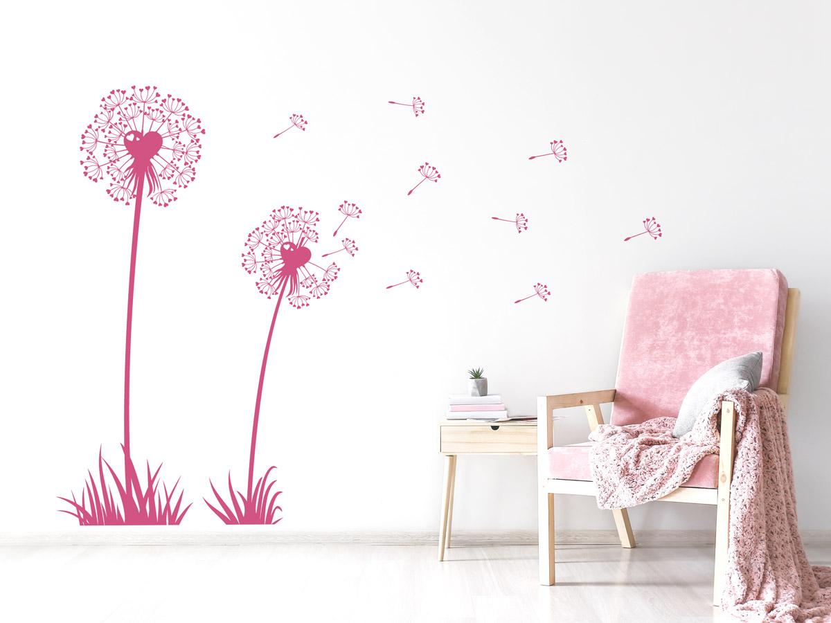 Wandtattoo Pusteblume fürs Kinderzimmer