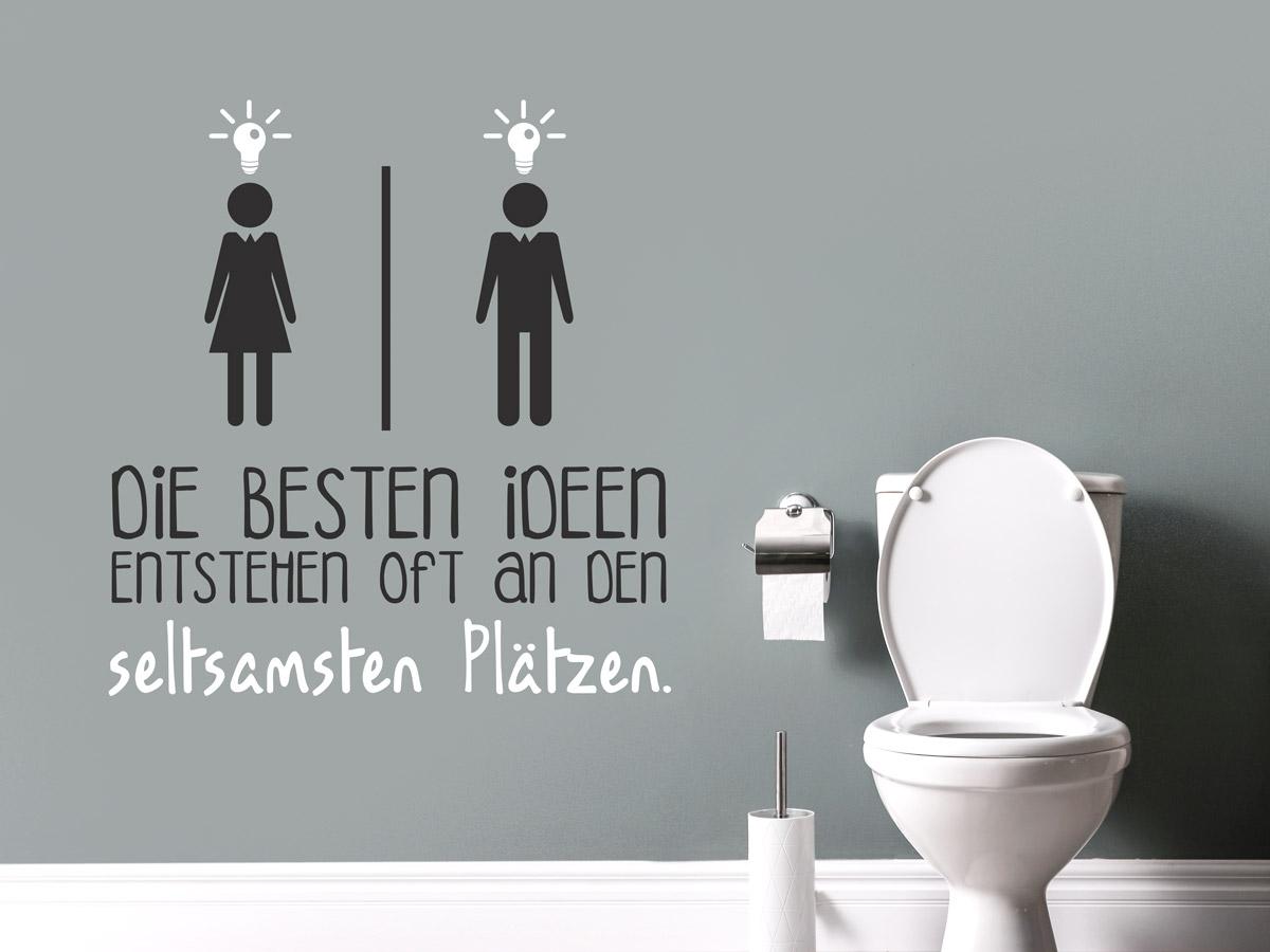 Wandtattoo Toilette   Türschilder & Sprüche   Wandtattoos.de