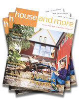 Cover von house and more - Ausgabe 01/2012
