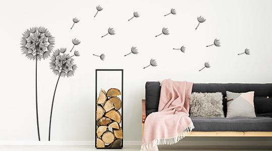 Wandtattoo Wohnzimmer Kreative Wandgestaltung Wandtattoos De