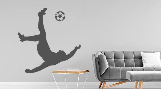 29 wandtattoo menschen sportler fussball kunstschuss2