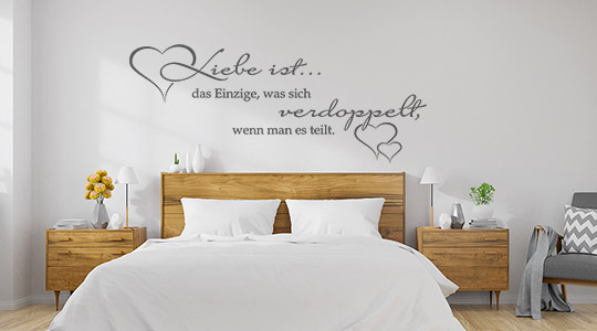 Wandtattoo Sprüche | Sprichwörter | Wandtattoos.de