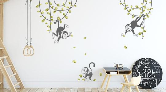 Wandtattoo Kinderzimmer | große Motivauswahl | Wandtattoos.de