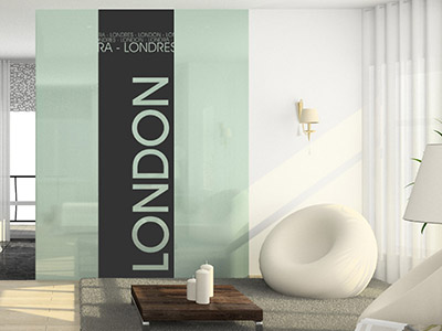 Wandbanner London