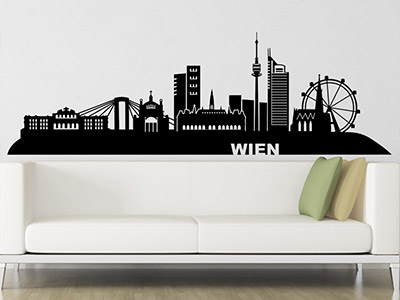 wandtattoo skylines weltst dte mit wolkenkratzer. Black Bedroom Furniture Sets. Home Design Ideas