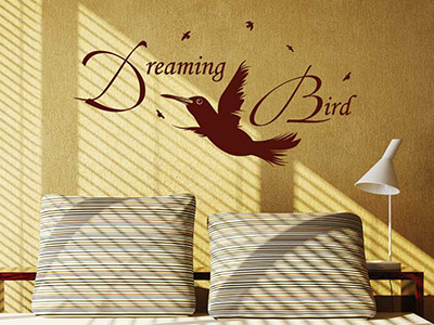 Wandtattoo Dreaming bird