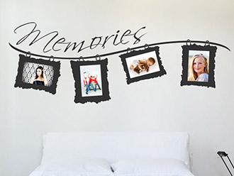 wandtattoo fotorahmen wandtattoo bilderrahmen bei. Black Bedroom Furniture Sets. Home Design Ideas