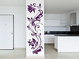 wandtattoo pflanzen als wandtattoo baum bl te und blume. Black Bedroom Furniture Sets. Home Design Ideas