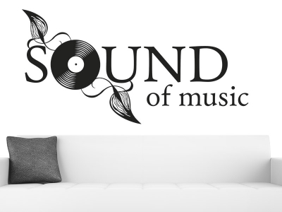 Wandtattoo Sound of music