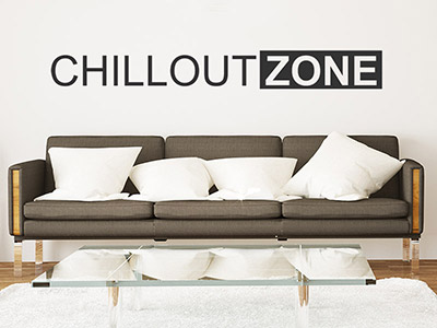 Wandtattoo Chilloutzone