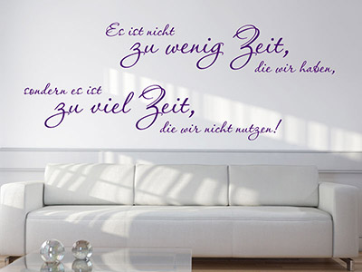 wandtattoo motivations spr che motivierender spruch. Black Bedroom Furniture Sets. Home Design Ideas