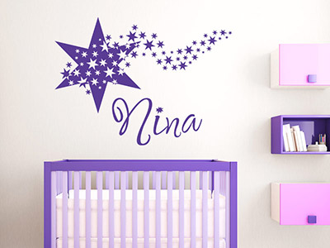 wandtattoo babyzimmer wandtattoo baby namen bei. Black Bedroom Furniture Sets. Home Design Ideas