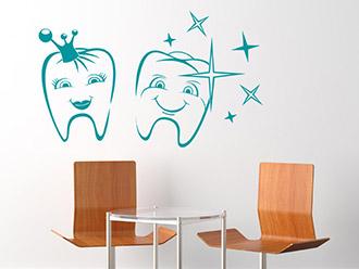 wandtattoo zahnarzt kreative zahnarzpraxis gestalten. Black Bedroom Furniture Sets. Home Design Ideas
