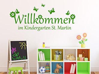 wandtattoo kindergarten wandgestaltung in der kita. Black Bedroom Furniture Sets. Home Design Ideas