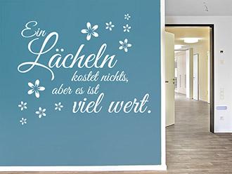 Wandtattoos fürs Pflegeheim - Wandtattoo im Altenheim