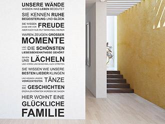 wandtattoo leben spruch und weisheiten f r jedes haus. Black Bedroom Furniture Sets. Home Design Ideas