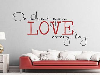 wandtattoo motivation spruch motivierende spr che von. Black Bedroom Furniture Sets. Home Design Ideas