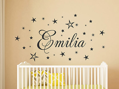 wandtattoo babyzimmer wandtattoo baby namen bei. Black Bedroom Furniture Sets. Home Design Ideas