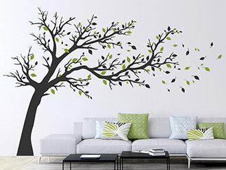 wandtattoo b ume pusteblumen und gr ser. Black Bedroom Furniture Sets. Home Design Ideas