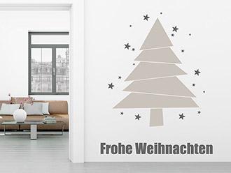 Wandtattoo weihnachten festliche weihnachtsdeko for Weihnachtshirsch deko