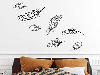 wandtattoo ornamente wandtattoo ornament motive bei. Black Bedroom Furniture Sets. Home Design Ideas