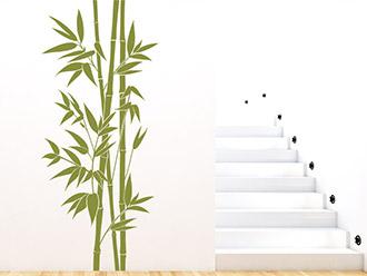 Wandtattoo Raumhoher Bambus
