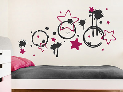 wandtattoo jugendzimmer motive f r jugendliche. Black Bedroom Furniture Sets. Home Design Ideas