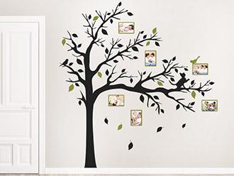 wandtattoo fotorahmen kreative bilderrahmen. Black Bedroom Furniture Sets. Home Design Ideas