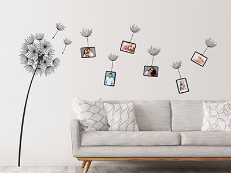 wandtattoo fotorahmen kreative fotowand. Black Bedroom Furniture Sets. Home Design Ideas