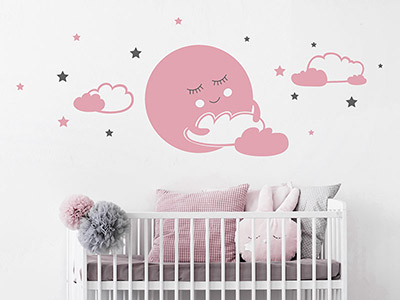 Wandtattoo babyzimmer s e baby motive for Wandtatoos babyzimmer