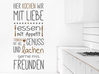 Wandtattoo Sprüche für die Küche | Essen & Trinken ...