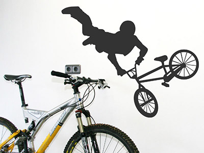 Wandtattoo BMX Freestyler