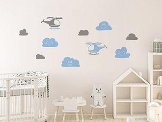 Wandtattoo Babyzimmer | süße Baby Motive | Wandtattoos.de