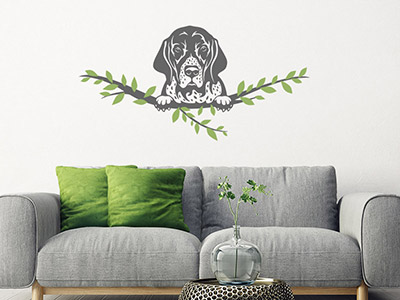 Wandtattoo English Pointer