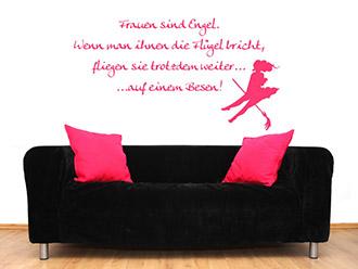 lustige wandtattoo spr che witzig und humorvoll. Black Bedroom Furniture Sets. Home Design Ideas