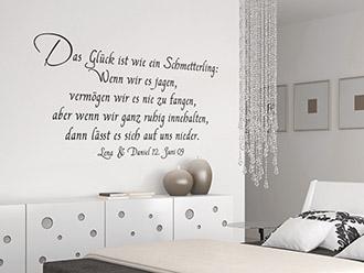 wandtattoos zur hochzeit brautpaar namen mit datum. Black Bedroom Furniture Sets. Home Design Ideas