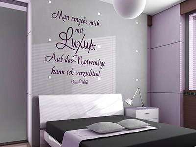wandtattoo lebensweisheiten zitate leben. Black Bedroom Furniture Sets. Home Design Ideas