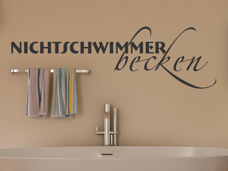 wandtattoo nichtschwimmerbecken. Black Bedroom Furniture Sets. Home Design Ideas