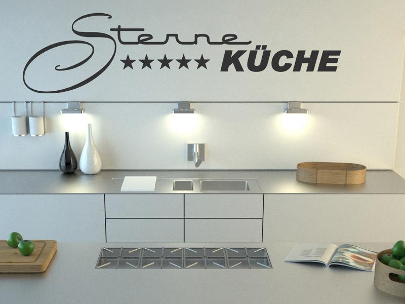 wandtattoo sternek che moderne schrift. Black Bedroom Furniture Sets. Home Design Ideas