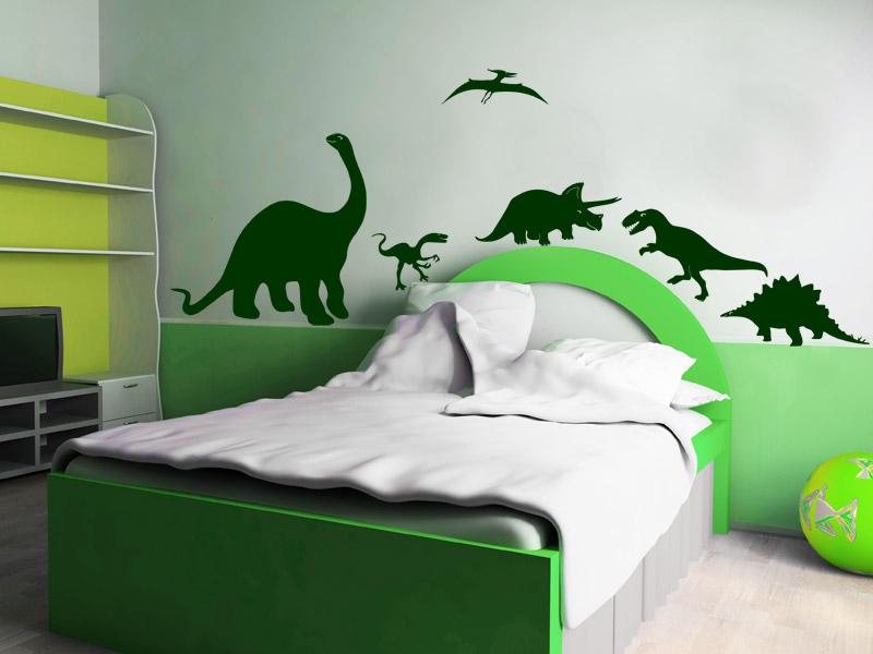 ... Dino Set | Wandtattoos für Kinder | Kinderzimmer Dinosaurier
