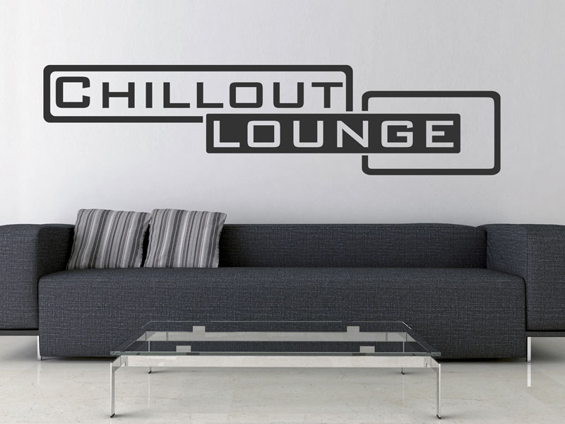 wandtattoo chilloutlounge. Black Bedroom Furniture Sets. Home Design Ideas