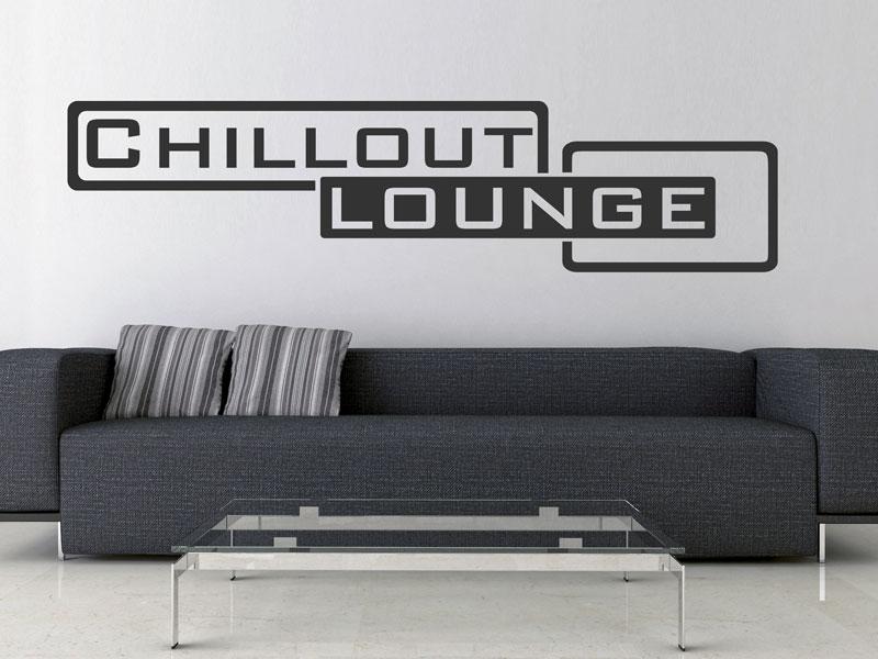 chilloutlounge wandtattoo lounge walltattoo bei. Black Bedroom Furniture Sets. Home Design Ideas
