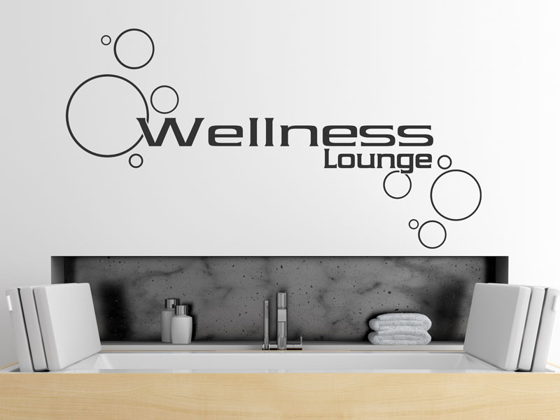 wandtattoo wellness lounge f rs badezimmer. Black Bedroom Furniture Sets. Home Design Ideas