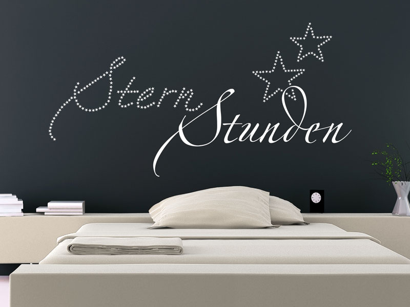 stern stunden wandtattoo sternstunden von. Black Bedroom Furniture Sets. Home Design Ideas
