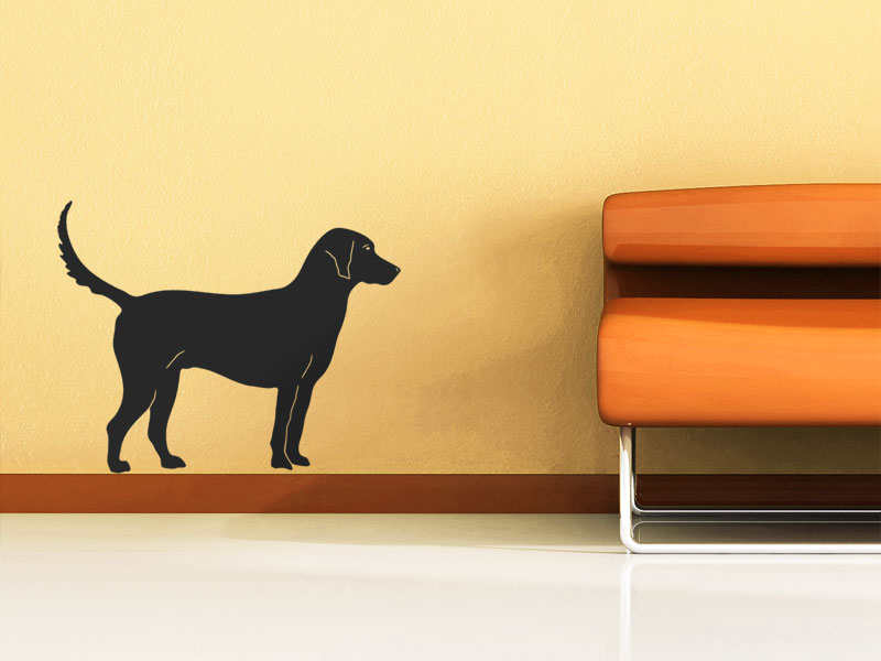 wandtattoo hund wandtattoo hunde bei. Black Bedroom Furniture Sets. Home Design Ideas