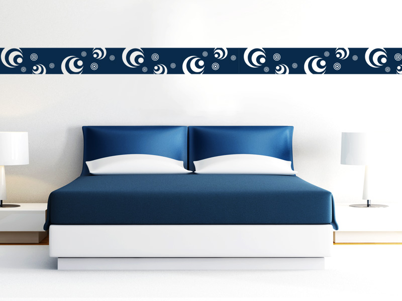 bord re retro kreise wandtattoo retro kreise bord re. Black Bedroom Furniture Sets. Home Design Ideas