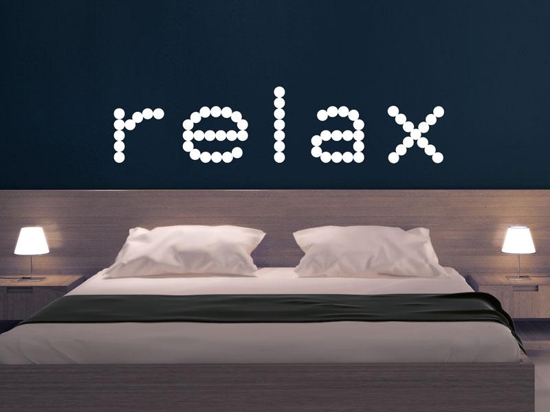 Wandtattoo relax time entspannung - Wandtattoo relax ...