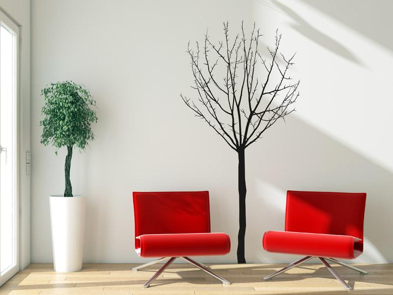 wandtattoo kahler baum silhouette. Black Bedroom Furniture Sets. Home Design Ideas